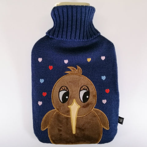 """Cute Kiwi"" Hot Water Bottle"