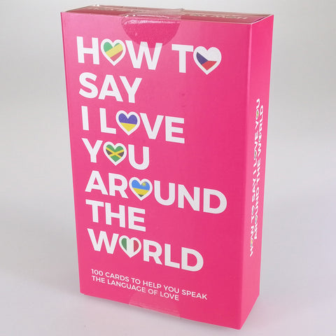 "Flash Cards - ""How to Say ""I Love You"" Around the World"""