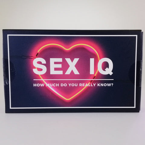 "Party Card Game - ""Sex IQ"" - Explicit"