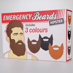 Emergency Beards - Set of 3