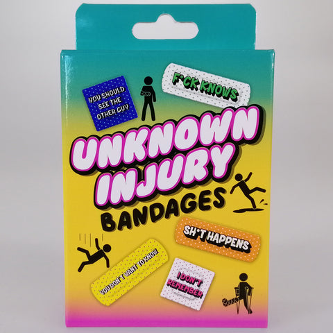 Unknown Injury Sticky Bandages Novelty