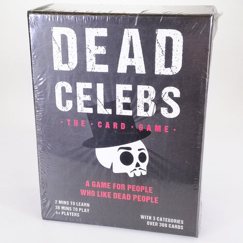 Dead Celebs The Card Game