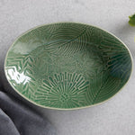 "Maxwell & Williams - ""Panama"" - Oval Serving Bowl Green"