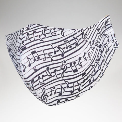 Eco Chic - Face Cover Mask - Music - Adult Size