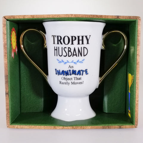 'Trophy Husband' - Double-handled Trophy Mug