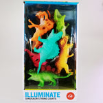Dinosaur String Lights - Battery Powered
