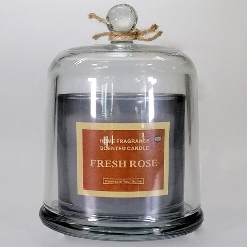 Scented Bell Candle - Fresh Rose