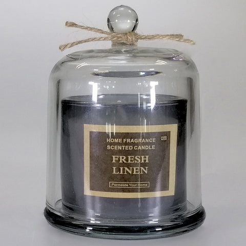 Scented Bell Candle - Fresh Linen