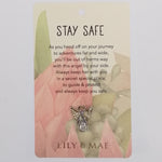 Lily & Mae - Guardian Angel Pin - Stay Safe