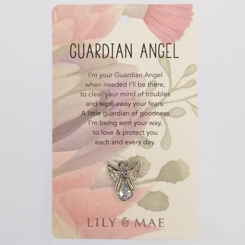 Lily & Mae - Guardian Angel Pin - Guardian Angel