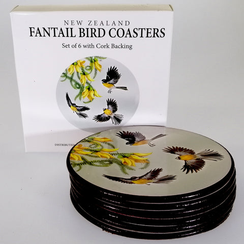 "Coasters - ""Faintail in Flight"" - Set of 6"