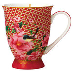 Maxwell & Williams - Silk Road - 300ml Footed Mug - Red