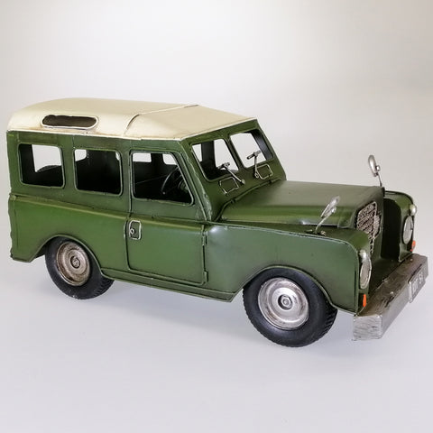 Early Model Land Rover Sculpture