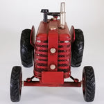 Vintage Red Tractor Sculpture