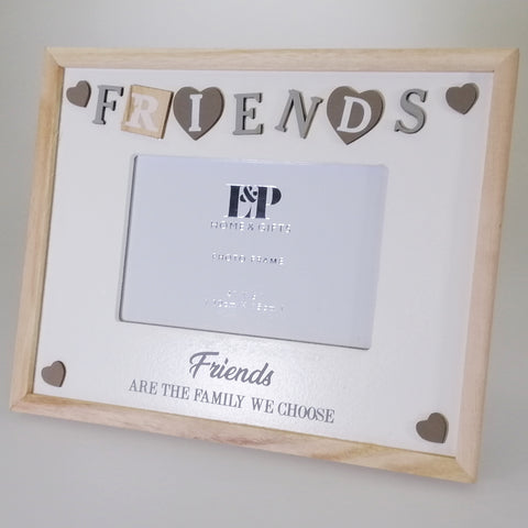 "Sentiment ""Friends"" Picture Frame - 15cm x 10cm"