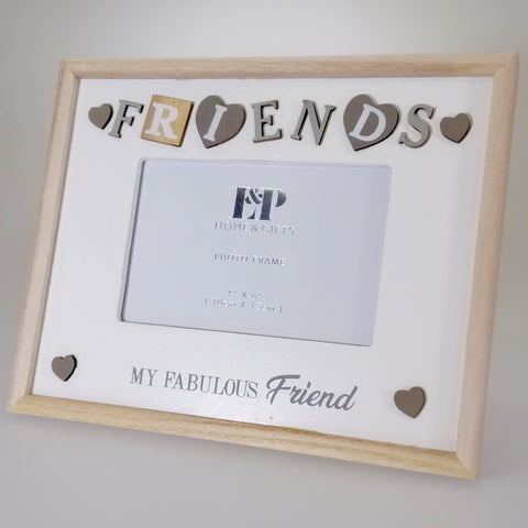 "Sentiment ""Fabulous Friend"" Picture Frame - 15cm x 10cm"