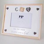 "Sentiment ""Cat"" Picture Frame - 15cm x 10cm"