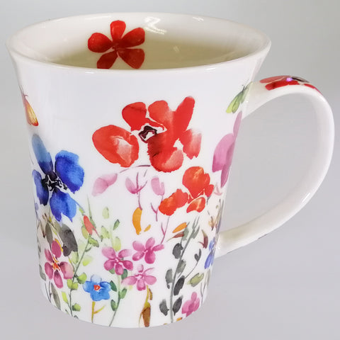 Butterfly Meadow - Fine China Mug - Gift Boxed