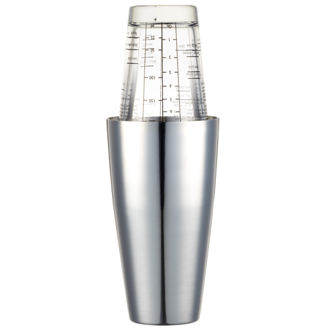 BarCraft Traditional Boston Cocktail Shaker - 400ml