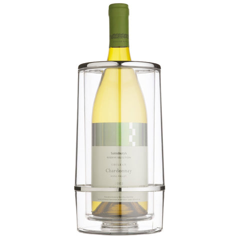 Acrylic Double-Walled Wine Cooler