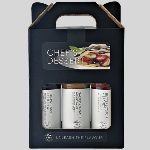 Wild Appetite - Chef's Dessert Gift Set - 3 x 150ml