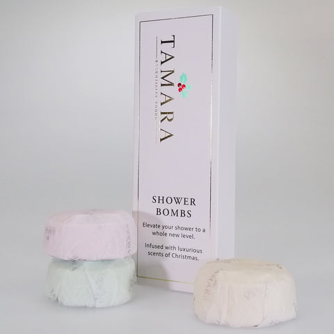 Tamara Christmas Shower Bombs - Pack of 3