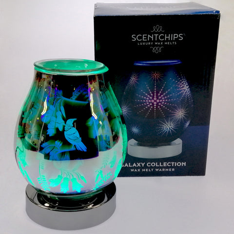 Scentchips Warmer with LED 'Tui' Colour Changing Display