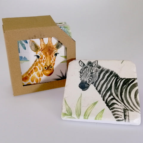 Coasters - Safari - Set of 4