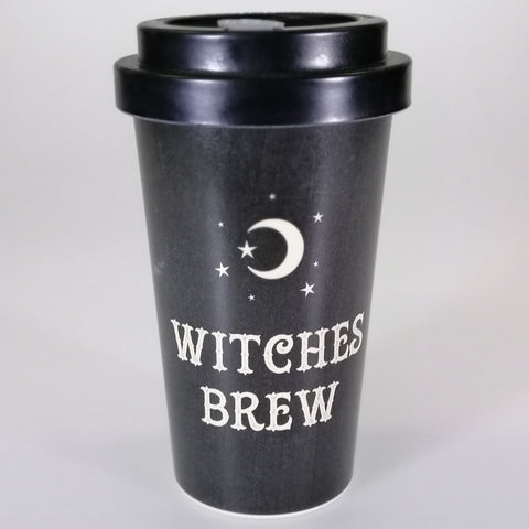"""Witches Brew"" Bamboo Travel Mug"