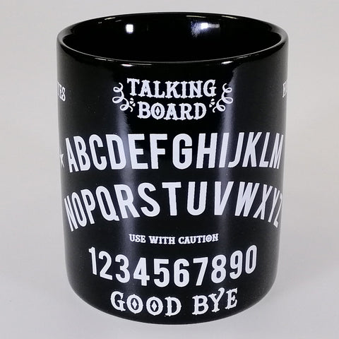 'Black Magic' Ouija Board-look Boxed Mug