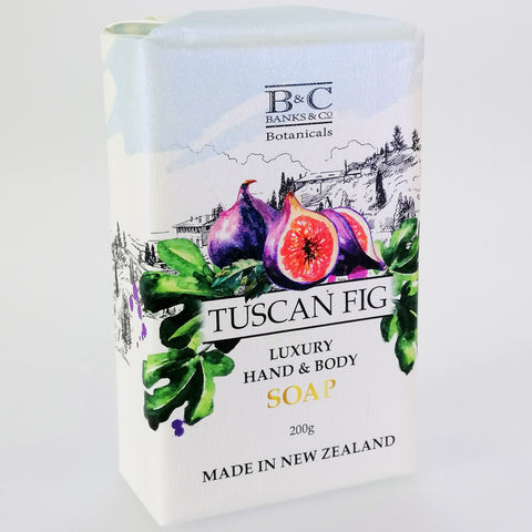 Banks & Co. Botanicals Luxury Soap - Tuscan Fig
