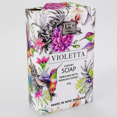 Banks & Co. Botanicals Luxury Soap - Violetta