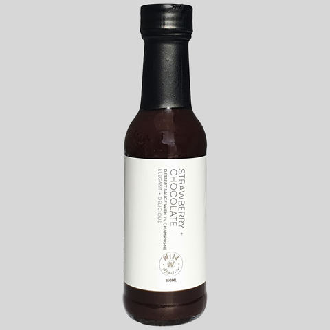 Wild Appetite - Strawberry and Sparkling Wine Chocolate Sauce - 150ml