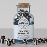 """Dad Joke Enhancers"" Black Ball Candy - 190g"