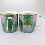 Maxwell & Williams - Sassafras Green Mugs - Set of 2