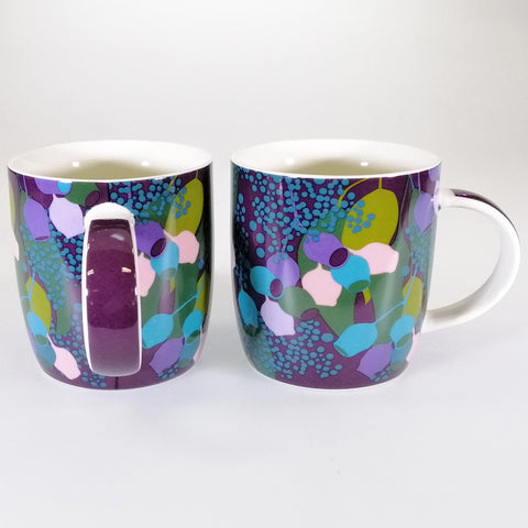 Maxwell & Williams - Sassafras Purple Mugs - Set of 2