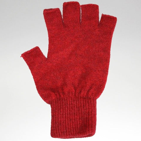 Fingerless Gloves - Rata - Possum Merino - Large