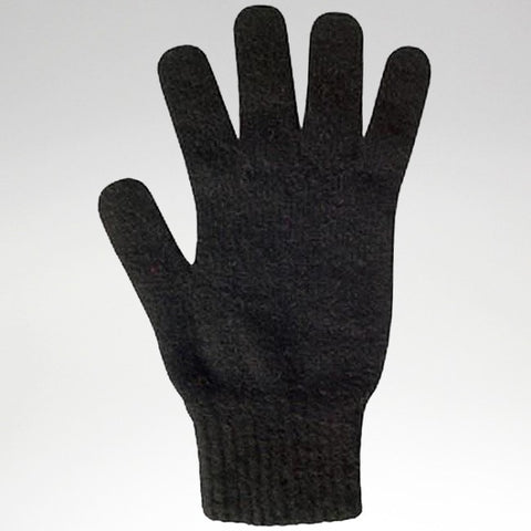 Gloves - Black - Possum Merino - Medium