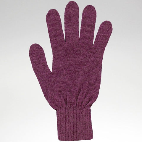 Gloves - Fuchsia - Possum Merino - Large