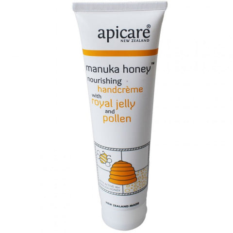 Apicare - Manuka Honey - Nourishing Hand Creme with Royal Jelly and Pollen - 90g