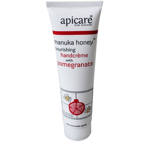 Apicare - Manuka Honey - Nourishing Hand Creme with Pomegranate - 90g