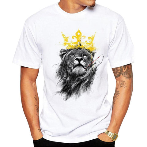 Crown Lion King T-Shirt - Printeera Store