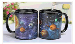 Creative Solar System Color Changing Coffee Mug