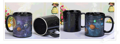 Creative Solar System Color Changing Coffee Mug - Printeera Store