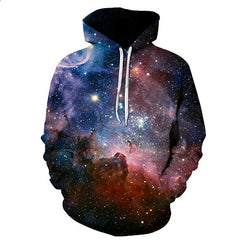 Beyond the Galaxy Space Hoodie - Printeera Store
