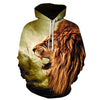 Image of The Wild Lion Hoodie - Printeera Store