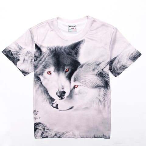 Best Friend Wolf Buddies Tee Shirt - Printeera Store