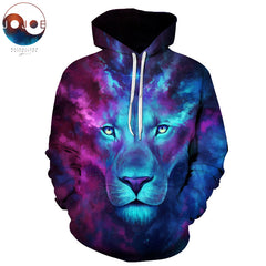 Firstborn Lion Hoodie by JoJoes Art