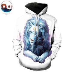 Child of Light Lion Hoodie by JoJoes Art (Light Edition)