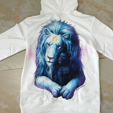 Child of Light Lion Hoodie (Light Edition) - Printeera Store